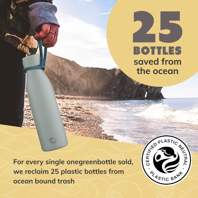 insulated water bottle ecofriendly sustainable choice onegreenbottle