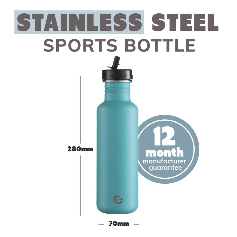steel water bottle eco and sustainable